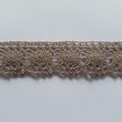Krajka paličkovaná 100% bavlna š.22mm 10m/bal.