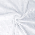 Metráž MINKY 3D srdíčka š.155cm polyester 10m/bal.