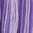 Příze Mouline ombre 100%bavlna 1,75g/8m 24ks/bal.