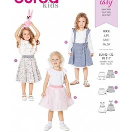 *Burda střih zelený č. 9319 dětská jednoduchá sukně, tylová sukně