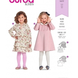 *Burda střih zelený č. 9332 dětské áčkové šaty