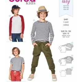 *Burda střih zelený č. 9346 jednoduché dětské tričko