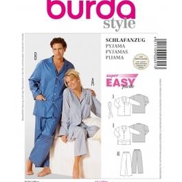 *Burda střih žlutý č. 2691 pyžamo