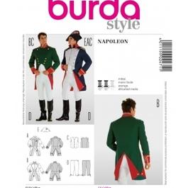 *Burda střih bílý č. 2471 pánský kostým na Napoleona / generála / vojáka