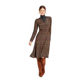 *Burda střih zelený č.6091 na dámské zavinovací šaty