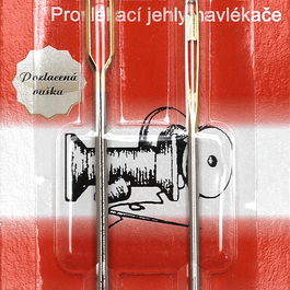 Jehly Galant provlékací - navlékače pozlacená ouška 2ks/karta
