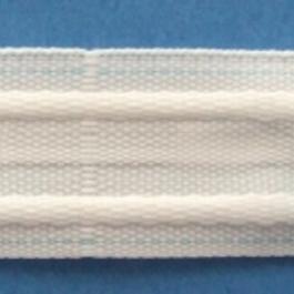 Záclonovka 100%PES š.26mm/50m řasení čtyři sklady 1:2