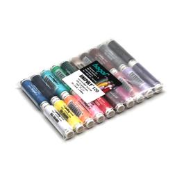 Nitě UNIPOLY 120 100%PES TEX 14x2 100m assort barev 20cívek/bal.