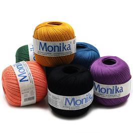 Příze Monika 100%bavlna 100g/550m 10ks/bal.