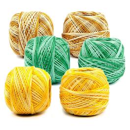 Příze Perlovka ombré 100%bavlna 10g/85m 10ks/bal.