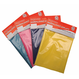 Záplaty nažehlovací barevné bavlna 20x43cm 1ks/karta