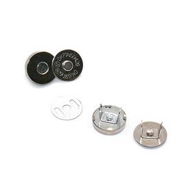 Zapínání kabelkové magnet. nýtovací pr.15mm/4díly 5sad/bal.