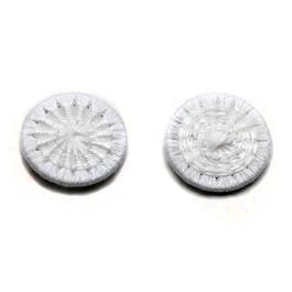 Knoflík nítěný Star v.22 (průměr 14mm) sypané 500ks/bal. bílá
