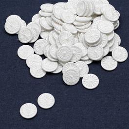 Knoflík nítěný Star v.28 (průměr 17,8mm) sypané 500ks/bal. bílá