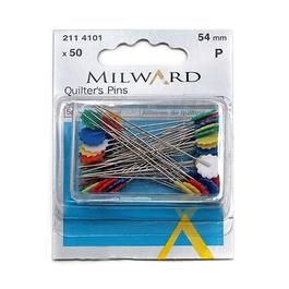 Špendlík napichovací na patchwork (d.54mm) 50ks/karta
