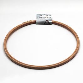Kroužek na vyšívání průměr 25cm dřevo 1ks/karta