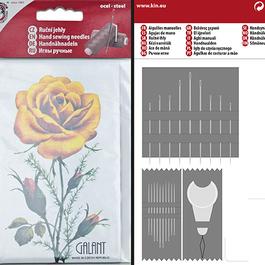 Jehly sada Růže 1ks/karta