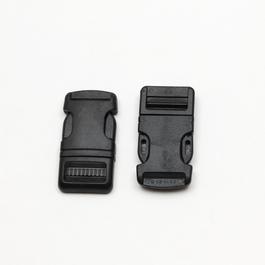 Spona batohová plastová zaoblená š.20mm 1ks/karta