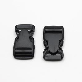 Spona batohová plastová zaoblená š.30mm 1ks/karta