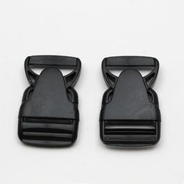 Spona batohová plastová zaoblená š.40mm 1ks/karta