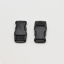 Spona batohová plastová zaoblená š.15mm 1ks/karta
