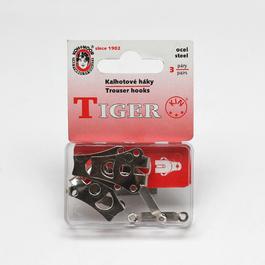 Hák kalhotový dvoudílný Fe 15255 1/2 š.18mm 3ks/miska/karta
