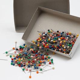 *Špendlík napichovací Fe 31x0,60mm (v.31) plastová hlava 500ks/bal.