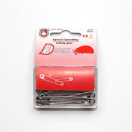 Špendlík spínací Duplex Fe d.28mm (v.1) 24ks pl.ph./karta