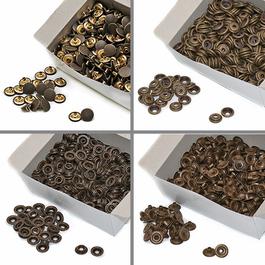 Knoflíky stiskací druky AM Ms průměr 15mm (v.6) 500ks/bal.