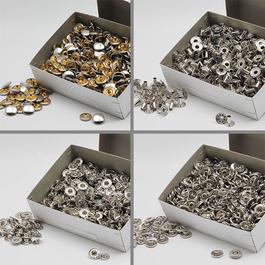 Knoflíky stiskací druky WUK Ms průměr 10,5mm (v.3/2) 500ks/bal.