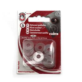 Podložka plastová pod AM, WUK průměr 15mm (v.6) 20ks/karta