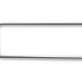 Spona věncová rovná Fe 30x10x1mm 50ks/bal.