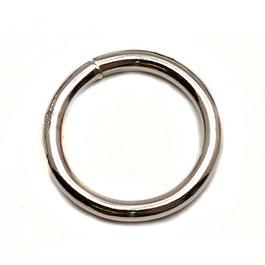 Sedlářské kroužky svařované Fe průměr 50mm