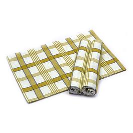 Utěrka Moderní káro tisk 100%bavlna 50x70cm 3ks/bal.