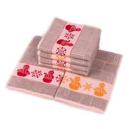 Utěrka froté tisk 100%bavlna 42x64cm