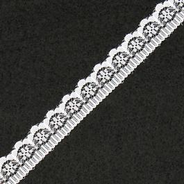 Krajka pletená 100%polyamid š.1,7cm 50m/bal.