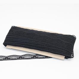 Krajka pletená 100%polyamid š.3,5cm 50m/bal.
