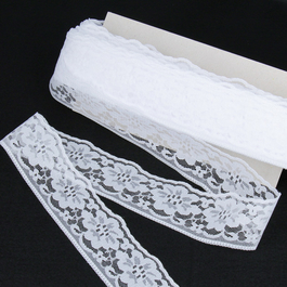 Krajka pletená 100%polyamid š.4,7cm 50m/bal.