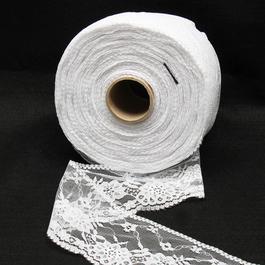 Krajka pletená 100%polyamid š.7,8cm 50m/bal.