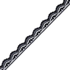 Krajka pletená 100%polyamid š.1,4cm 50m/bal.