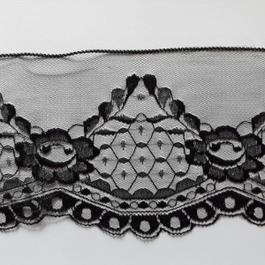 Krajka pletená 100%polyamid š.14cm 50m/bal.