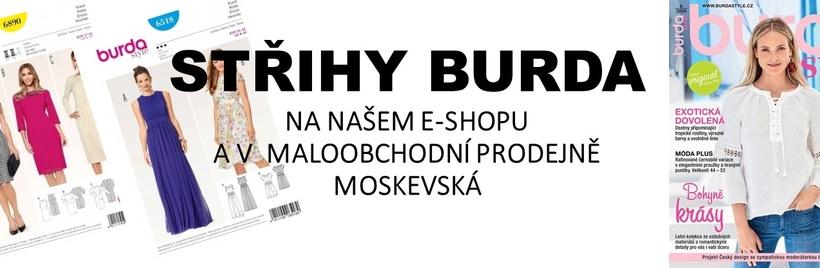 Střihy můžete zakoupit na našem e-shopu, nebo v maloobchodní prodejně v ulici Moskevská, Praha 10
