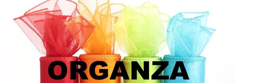 Organza - floristický, dekorační a obalový materiál