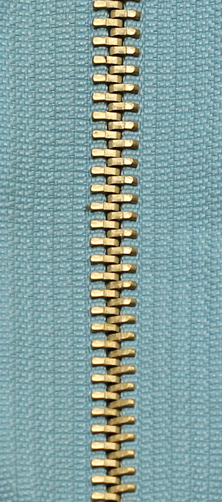 Zdrhovadlo nedělitelné Ms 6N Jeans 6cm 1602 sv.modrá (cena / kus)