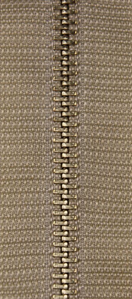 KOH-I-NOOR Zdrhovadlo nedělitelné Ms 4N 14cm 1061 béžová (cena / kus)