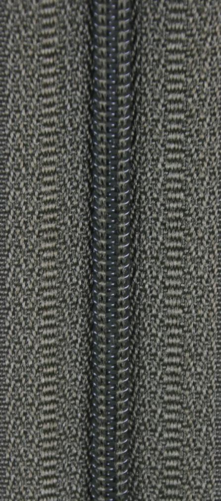 KOH-I-NOOR Zdrhovadlo spirálové WS 0N nedělitelné 40cm 288 tm.khaki (cena / kus)