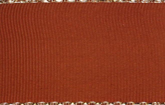 Stuha taft. s rexorem š.14mm 10m/bal. 705 Z/skořice (cena / balení)