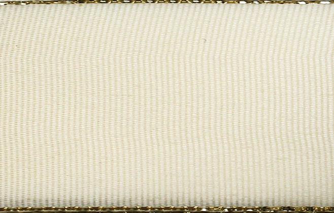 Stuha taft. s rexorem š.14mm 10m/bal. 201 Z/šampaň (cena / balení)