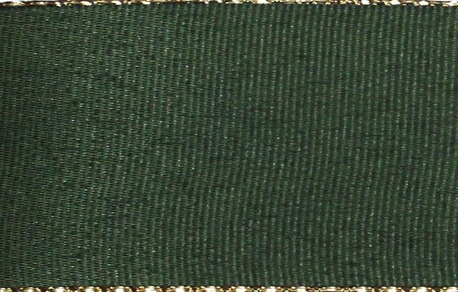 Stuha taft. s rexorem š.14mm 10m/bal. 322 Z/zelená (cena / balení)