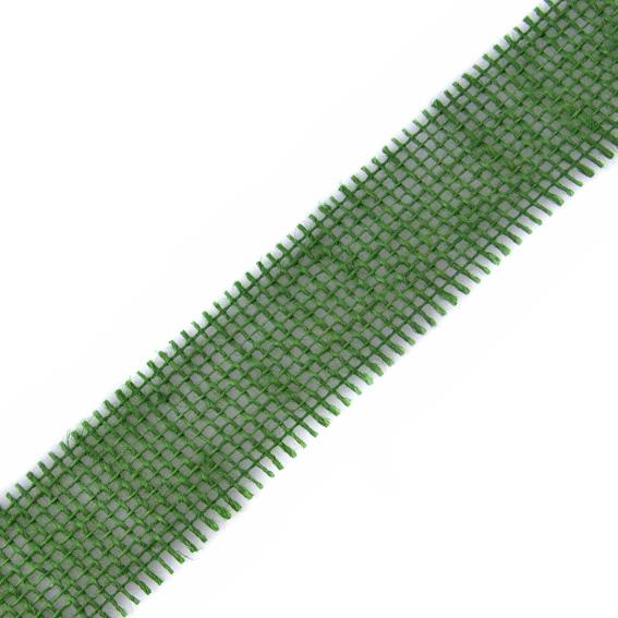 Stuha jutová 699 001 407 š.40mm 25m/bal. 111 tm.zelená (cena / metr)